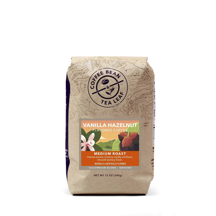 Vanilla Hazelnut Flavored Ground Coffee 12oz Bags by The Coffee Bean & Tea Leaf