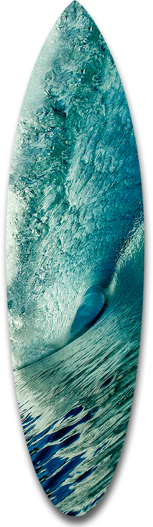 Big Blue Shortboard