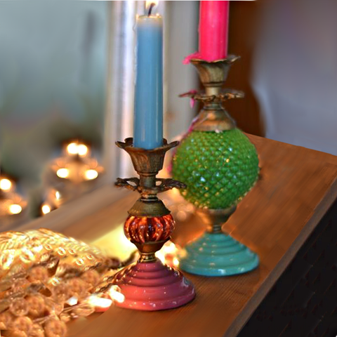 Candle + Tealight Holders