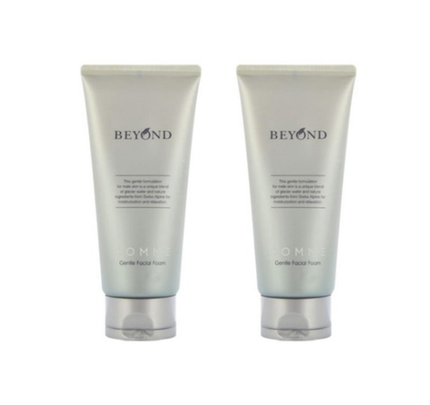 [MEN] 2 x Beyond Homme Gentle Facial Foam 150ml from Korea