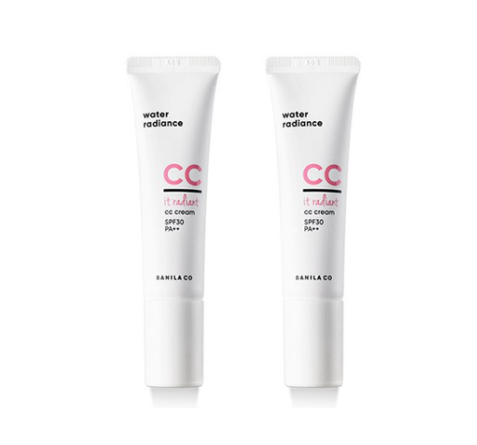 2 x BANILA CO It Radiant CC Cream 30ml from Korea_MU