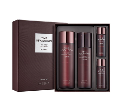 [MEN] MISSHA Time Revolution Homme The First Treatment Special Set (4 Items) from Korea