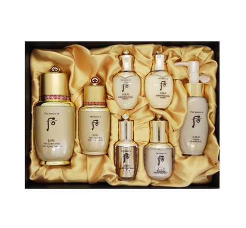 The History of Whoo Bichup Self-Generating Anti-Aging Essence Special Set 1 (7 Items) from Korea