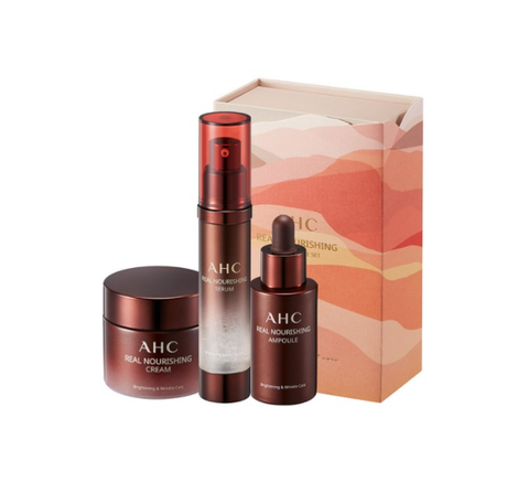 AHC Real Nourishing Special Skincare Set (3 Items) from Korea