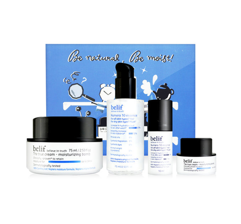 belif MUST-HAVE Moisturizing Set (4 Items) from Korea