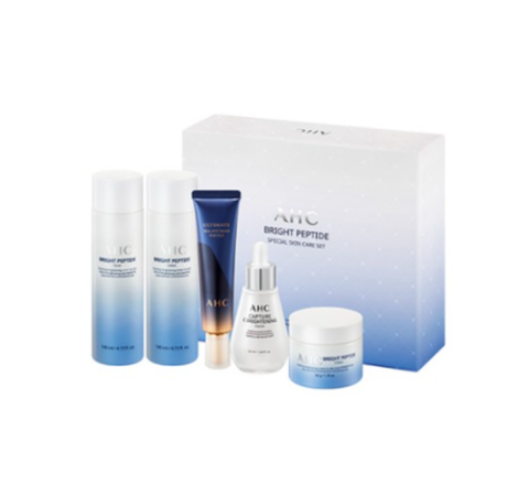 AHC Bright Peptide Special Skin Care Set (5items) from Korea