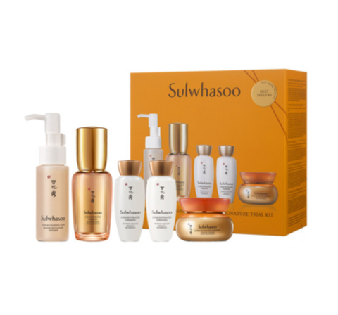 Sulwhasoo Concentrated Ginseng Renewing Serum Signature Trial Set (5 Items) from Korea