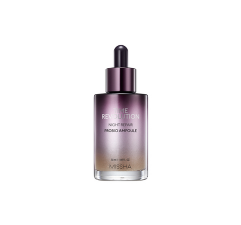 MISSHA Time Revolution Night Repair Probio Ampoule 50ml from Korea_E