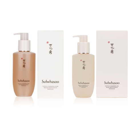 Sulwhasoo Gentle Cleansing Foam or/and Oil from Korea_CL
