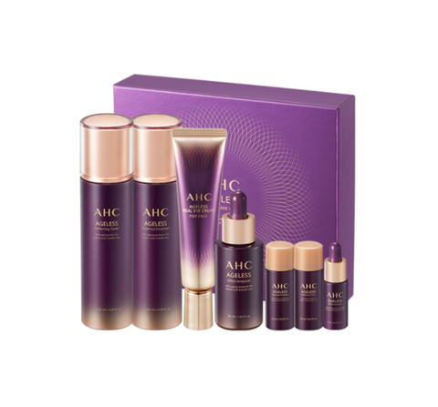 AHC Ageless Real Special Skincare Set (7 Items) from Korea