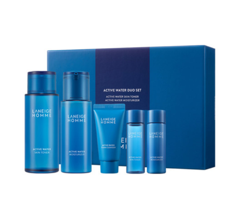 LANEIGE Homme Active Water Special Set (5 Items) from Korea