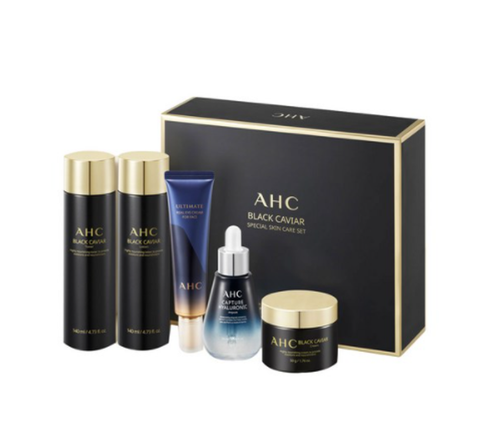 AHC Black Caviar Essential Special Set (5 Items) from Korea
