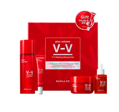 BANILA CO VV Vitalizing Skincare Set (4 Items) from Korea