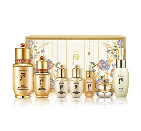 The History of Whoo Bichup Self-Generating Essence Special Set 2 (7 Items) from Korea