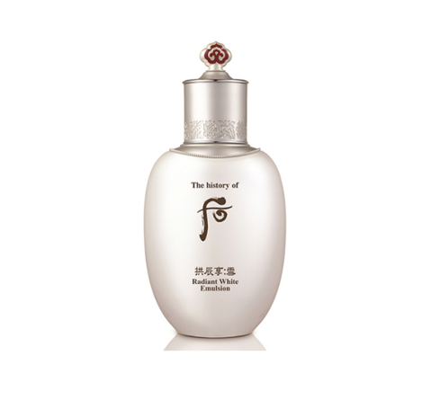 The history of whoo Gongjinhyang:Sul Radiant White Emulsion 110ml from Korea_M