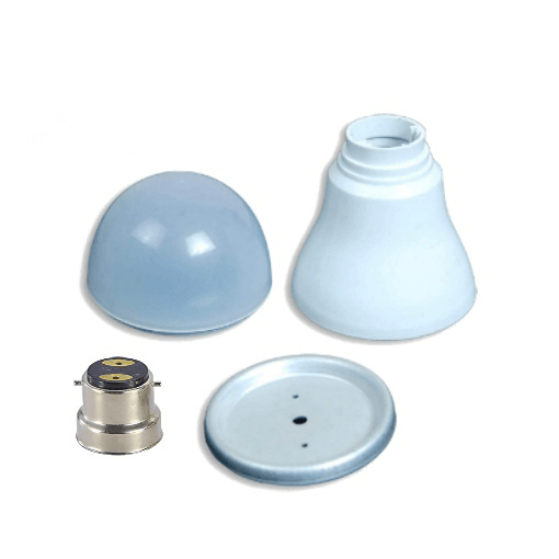 LED Light Bulb Housing 57 MM with B-22 Nickel Cap Pack of 20
