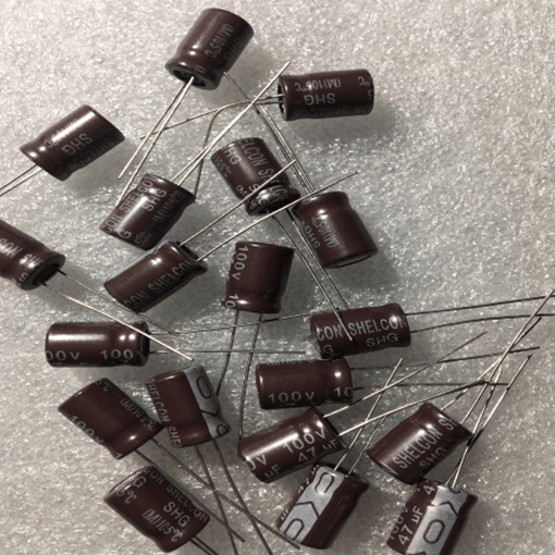 Electrolytic Capacitor 47uf 100V Pack of 100