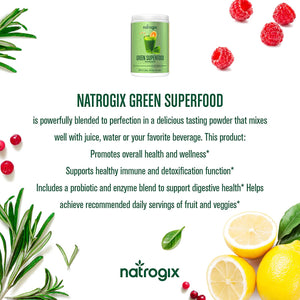 Green Superfood by Natrogix Super Greens Powder