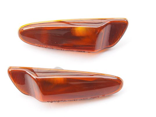 JZA80/MKIV Toyota Supra Genuine OEM JDM Front Bar Side Indicators (Pair)