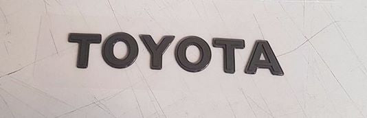 "JZA80/MKIV Toyota Supra Genuine OEM Gel ""Toyota"" Badge - 75441-14190"