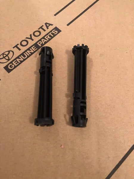 JZA80 Toyota Supra OEM Footrest Clips (Pair) - 58198-24010