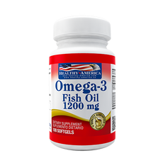 Omega 3 Fish Oil (EPA DHA) 1200 mg 100 cápsulas
