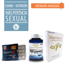 COMBO MAS VIGOR SEXUAL Paquete 3 Productos
