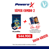 ¡Súper Combo 2 PowerSex Potenciador Sexual (40 Tabletas) + SEX KIT!