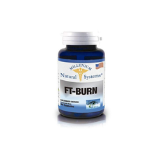 FT - Burn Quemador de Grasa Natural 500Mg 60 Capsulas