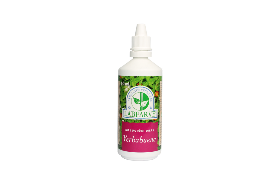 Yerbabuena extracto 60 ml Anti-flatulento