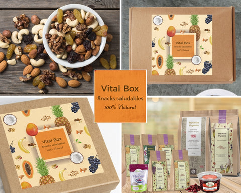 Vital Box Mediana - Snacks Saludables - Mercado Saludable