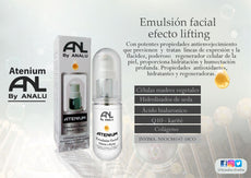 EMULSION FACIAL ATENIUM BY ANALU (EFECTO LIFTING)