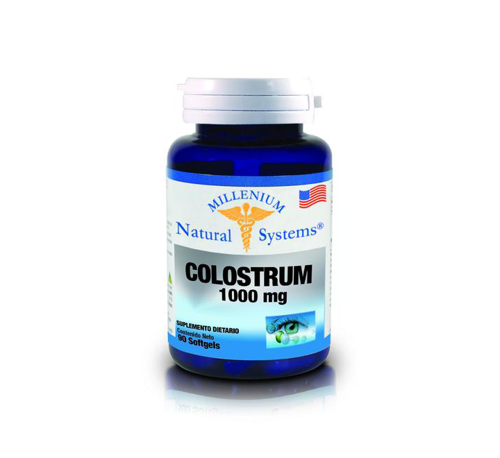Colostrum 1000mg Millenium - X 90 Softgels-