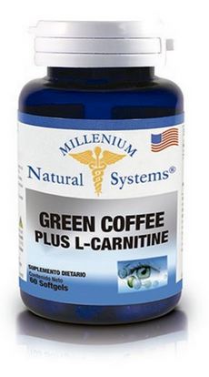 Green Coffee Plus (Extracto Café Verde) + L Carnitina 60 Softgels