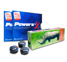 Combo 3 Ahorro Power Sex (65 tabletas) + Gel Retardante RHINO ¡GRATIS!