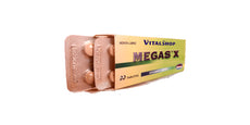 Potenciador Sexual MegaSex 20 Tabletas 100% Natural