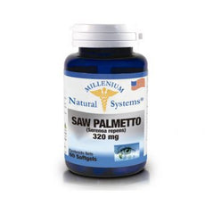 Saw Palmetto Millenium de 320mg  -X 60 Softgels-