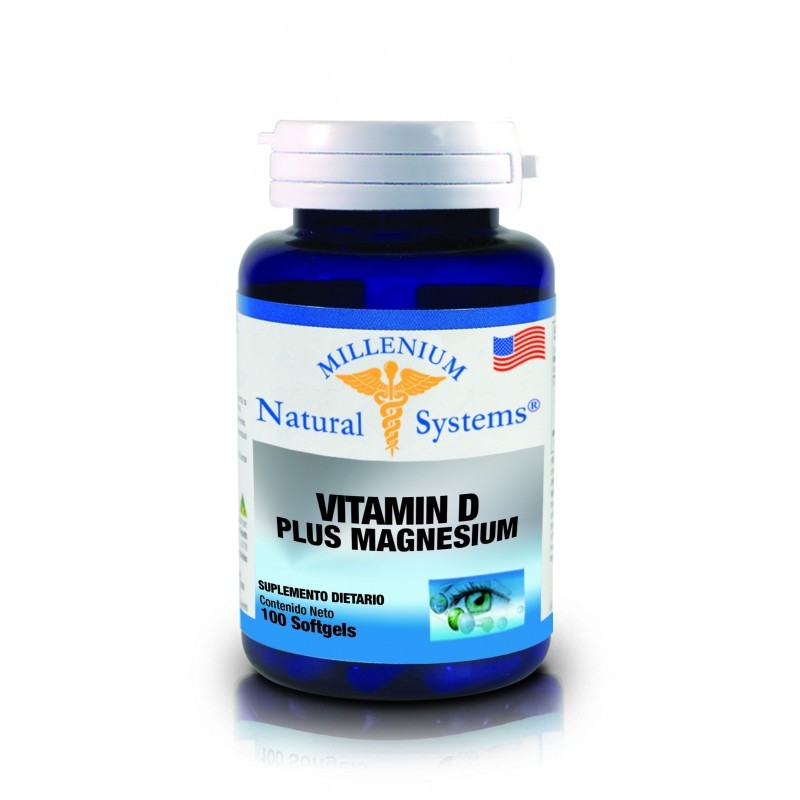 VITAMINA D PLUS MAGNESIUM X 100 SOFTGEL