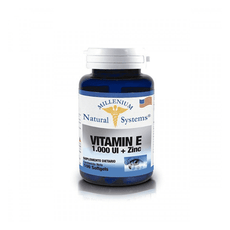 Vitamina E 1.000 IU + Zinc 100 SoftGels