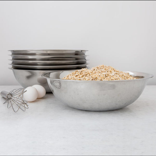 Stainless Steel Prep Mixing Bowls, Set of 6