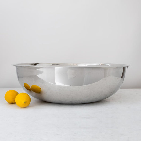 Extra Large Stainless Steel Mixing Bowl