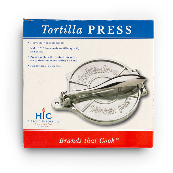 Aluminum Tortilla Press