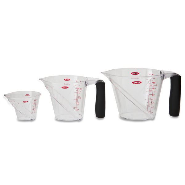 OXO Good Grips Angled Measuring Cups, Set of 3