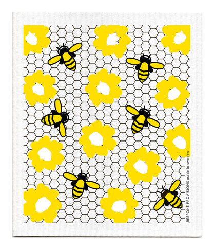 Swedish Dishcloth, Bees