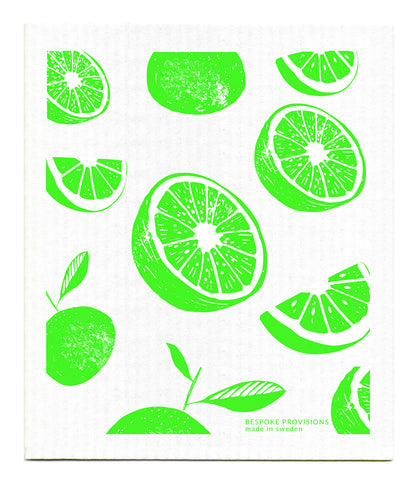 Swedish Dishcloth, Limes