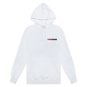 EMBROIDERED LOGO HOODIE-Live Nation
