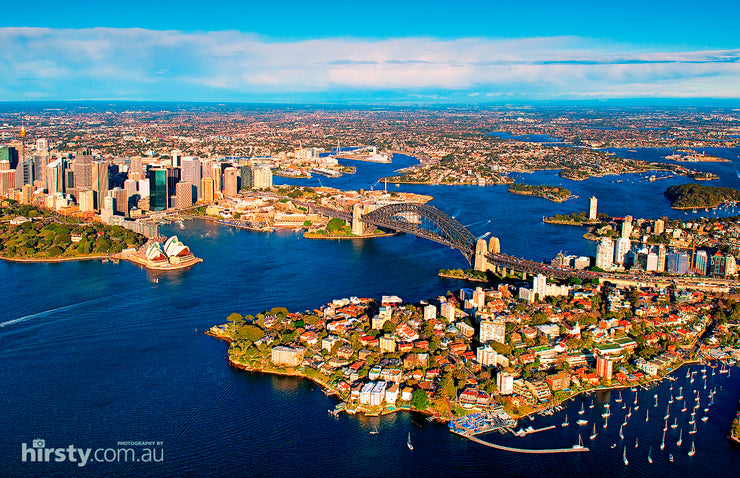 Harbour City, Sydney Harbour