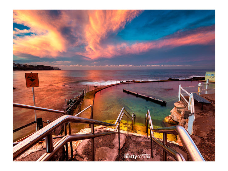 Sunset Swirls, Bronte
