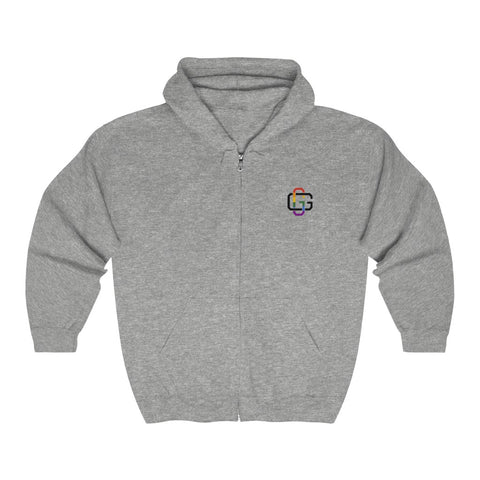 GG GangstaGay Unisex Heavy Blend™ Full Zip Hooded Sweatshirt