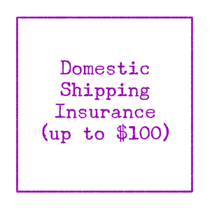 [Domestic Shipping Insurance Add-on]